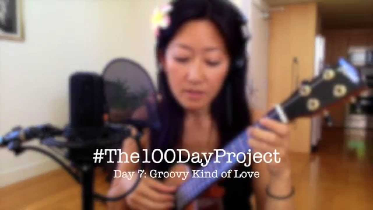 Day 7 Groovy Kind Of Love 100daysofukulelesongs Youtube
