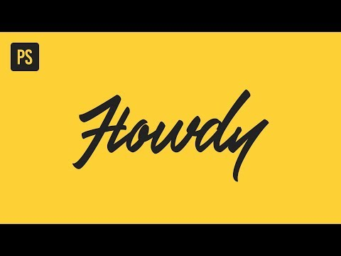 Beautiful Lettering With Font Ligatures In Photoshop