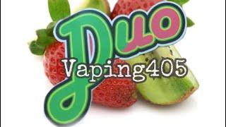 Burst Duo E Juice: Kiwi and Strawberry