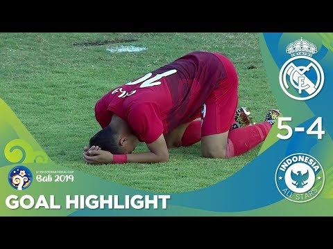 Gol Highlights: Real Madrid U20 (5) vs (4) Indonesia All Stars U20 | U20 International Cup 2019