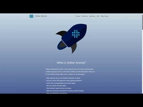 Stellar Activity - Подробный разбор проекта