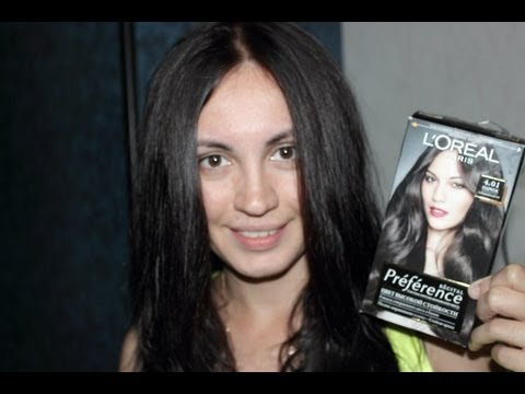 Красим волосы с Loreal Preference
