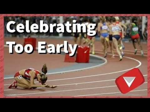 Never Celebrate Too Early | Even A Moment Can Change Your Life| Epic Fails | Athlatics Edition |