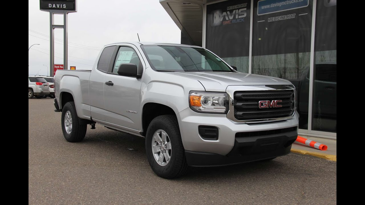 Brand new 2016 GMC Canyon SL for sale in Medicine Hat, AB ...