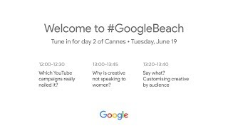 Google Lightning Talks Live at Cannes: Day 2 thumbnail