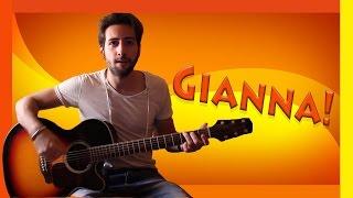 "Tutorial Chitarra ➔ ""Gianna"" - Rino Gaetano [Accordi Facili ITA]"