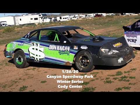 1/26/20 Canyon Speedway Park Winter Series
