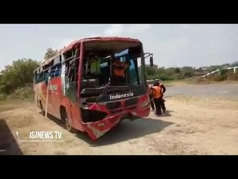 Pengujian Rem laka di kudus Bus PO.INDONESIA Hasilnya : Sistem pengereman Bus  dalam Kondisi Baik