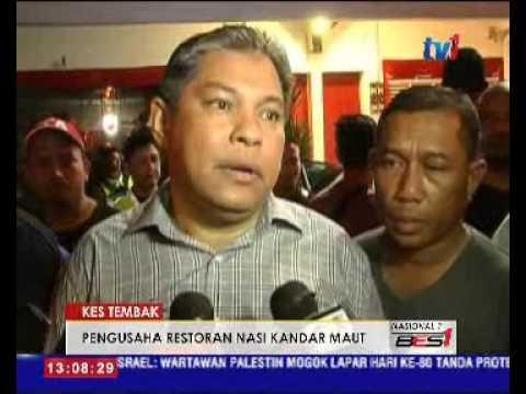 PENGUSAHA RESTORAN NASI KANDAR MATI DITEMBAK [11 FEB 2016]