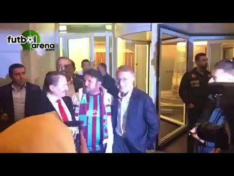 Beşiktaş taraftarından Şenol Güneş'i ziyarete gelen Ahmet Ağaoğlu'na teşekkür