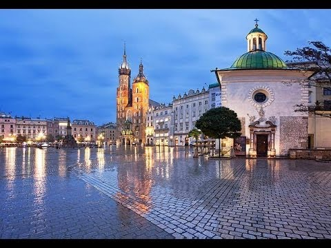 Most Beautiful Cities in Central  Europe
