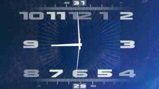 Часы, заставка новостей Первого канала (21.08.2003)