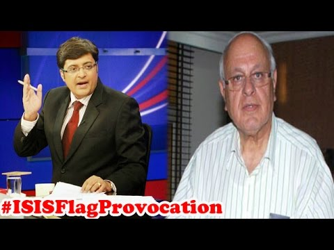 NC chief Farooq Abdulla defends ISIS and Pakistani flags in Kashmir : The Newshour Debate