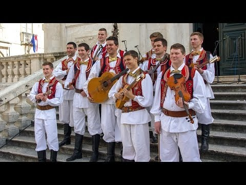 Old Town Dubrovnik Traditional Croatia Hrvatska Music