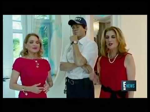 The Jills featured on E! News giving a tour of Tommy Hilfiger's Miami Home
