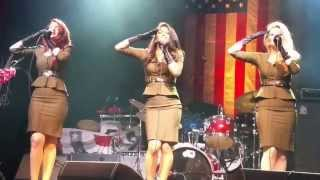 Boogie Woogie Bugle Boy at the Paramount Theatre