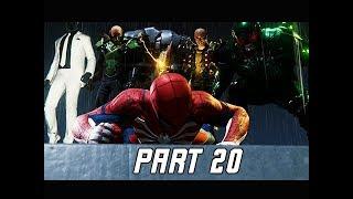 MARVEL'S SPIDER-MAN Walkthrough Part 20 - Sinister Six (PS4 Pro 4K Let's PLay)