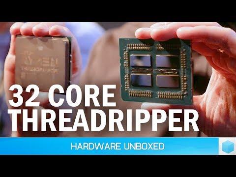 32 Core Threadripper 2, AMD Drops the Mic on Intel
