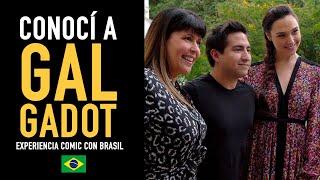 Gal Gadot me recordó y conocí a Margott Robbie l Experiencia Comic Con Brasil