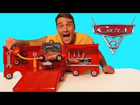 Cars 3 Mack's Mobile Tool Center ! || Disney Toy Review || Konas2002