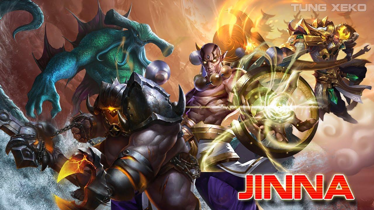 Hướng dẫn chơi Jinna - Đường Tam Tạng - Liên Quân Mobile - Realm of Valor