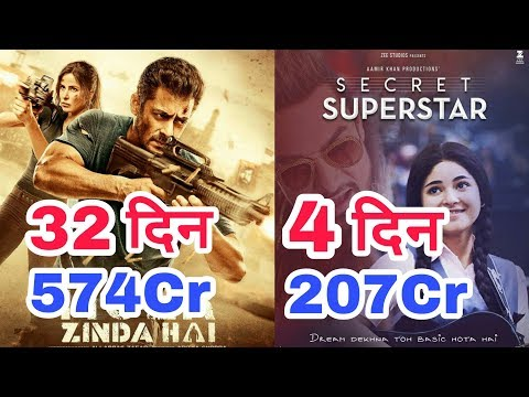 Tiger Zinda Hai 32nd Day, Secret Superstar 4th Day China Box Office Collection