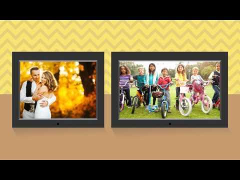 Digital Photo Frame Spotlight - Best Buy Endcap Part 2 - YouTube