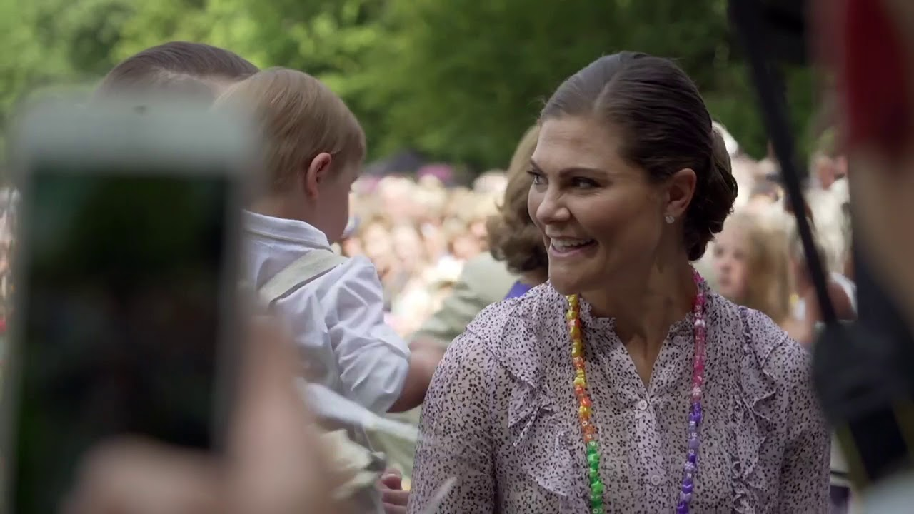 The year with the Swedish Royal Family (2018) (Swedish)