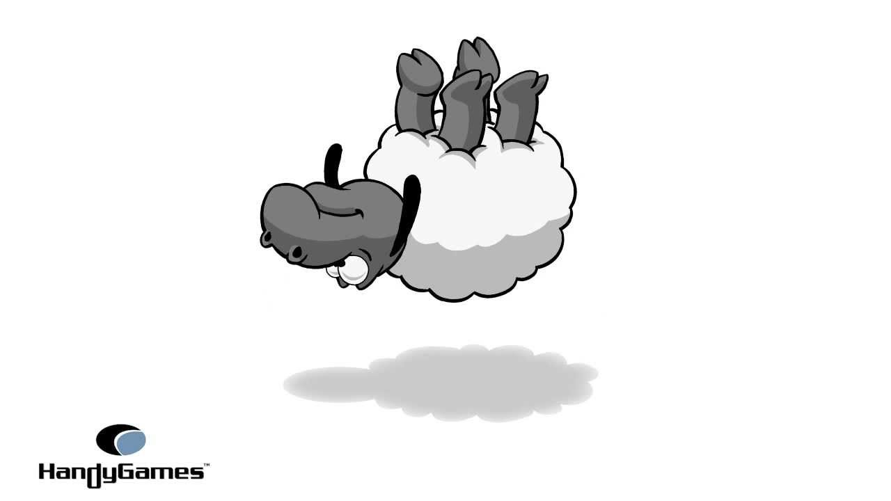 Animated Cartoon Sheep - Clouds & Sheep - YouTube