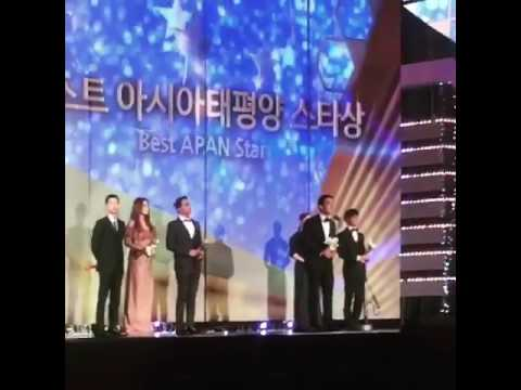 Joe Taslim for The best Apan Star Awards 2016