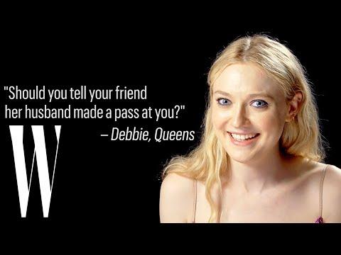 Dakota ning Gives Life Advice  Ask W  W Magazine