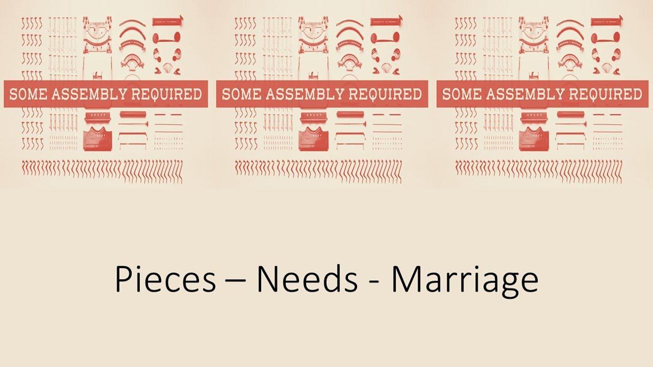 Pieces - Needs - Marriage, Ephesians 5:1-14