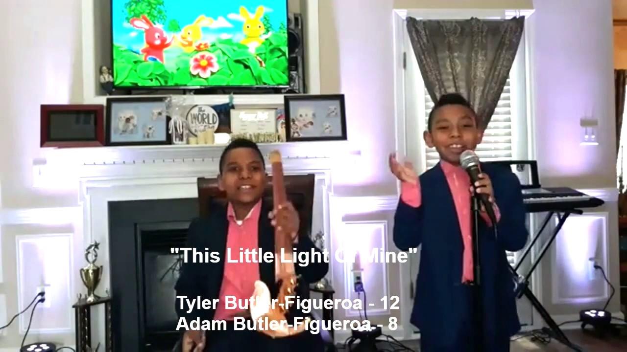 """""""This Little Light Of Mine"""" - (violin cover) Gospel Hymn Tyler & Adam Butler-Figueroa AGT Champions"""
