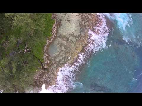 Aerial Footage of Tetepare - Solomon Islands