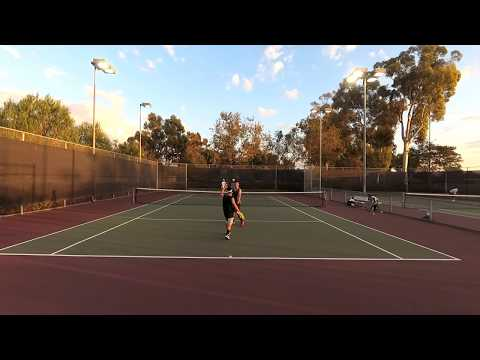 USTA 4.5 Doubles vs. Tennis On Campus (4K Video)