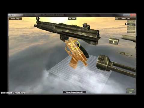 HK MP5 feild strip