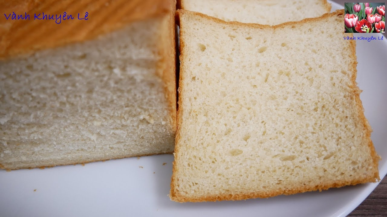 BÁNH MÌ GỐI SANDWICH – Cách làm Bánh Mì mềm mịn và thơm Bơ với KitchenAid by Vanh Khuyen