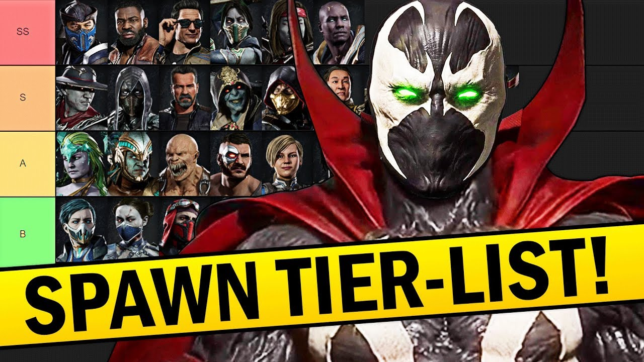 Mortal Kombat 11 How Does Spawn Rank On The Tier List Youtube