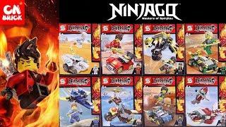 LEGO NINJAGO SEASON 11  MINIFIGURES SET SY1390 Unofficial lego lego videos