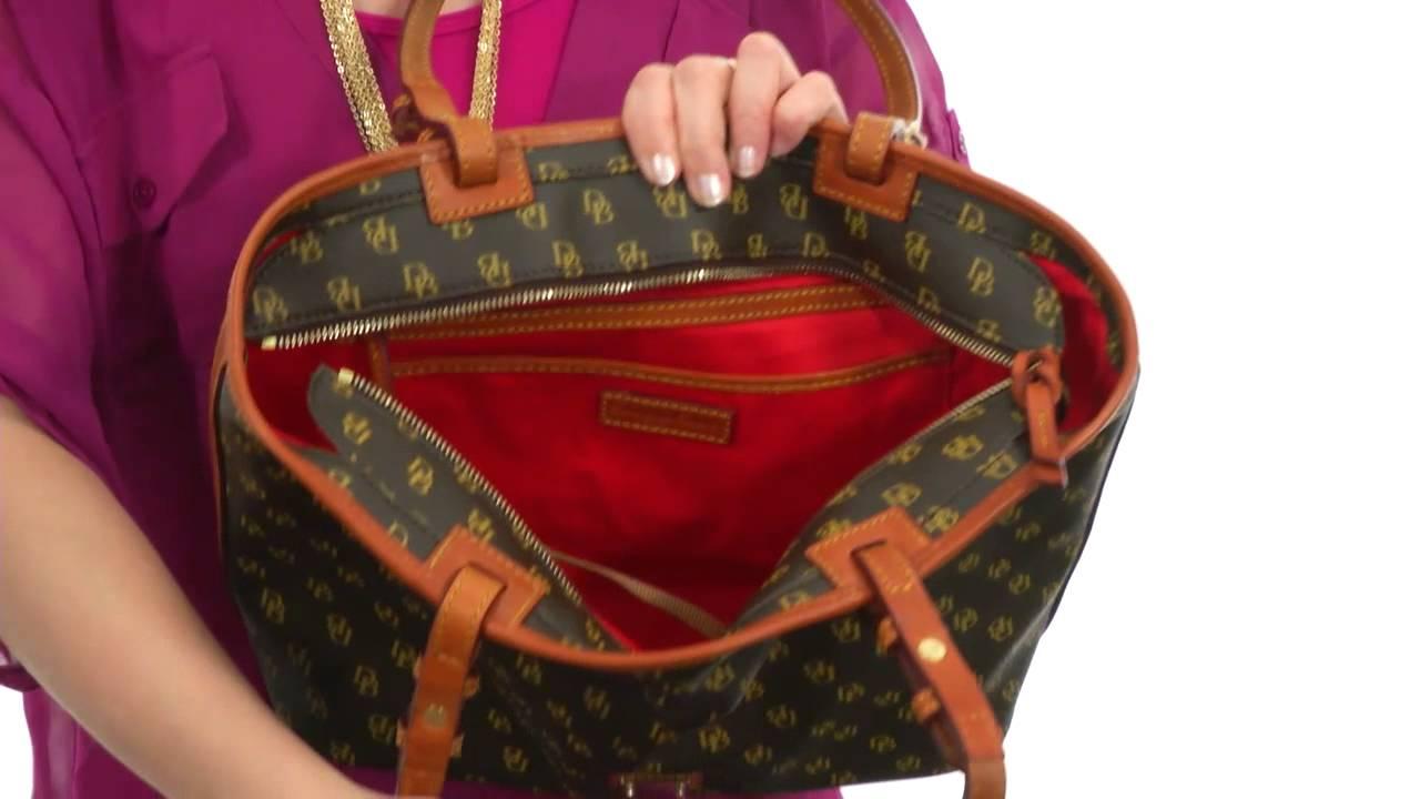 8fc7b2ea1f Dooney   Bourke Small Leisure Shopper SKU  8263669 - YouTube