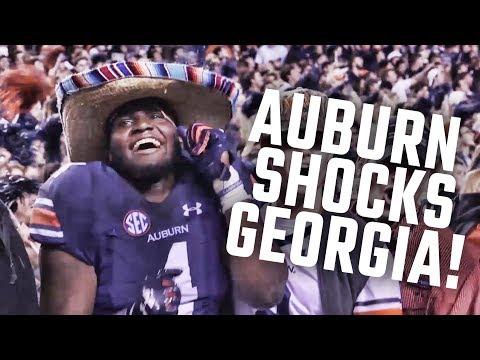 Auburn Shocks Georgia: Watch The Tigers Celebrate With Fans