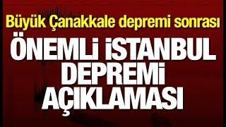 Çanakkale Ayvacık depremi sonrası Ahmet Ercan'dan önemli İstanbul depremi açıklaması