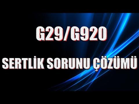 LOGITECH G29/920 SETİNİN SERTLEŞME SORUNU ÇÖZÜMÜ 👍 100%