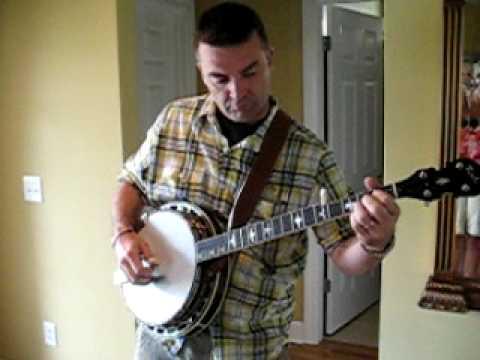 Paul Kirby Playin Bluegrass Banjo 7-10