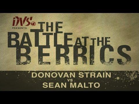 Sean Malto Vs Donovan Strain: BATB1 - Round 1