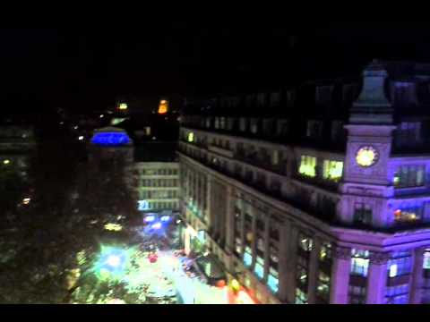 A view from The Penthouse, 1 Leicester Square