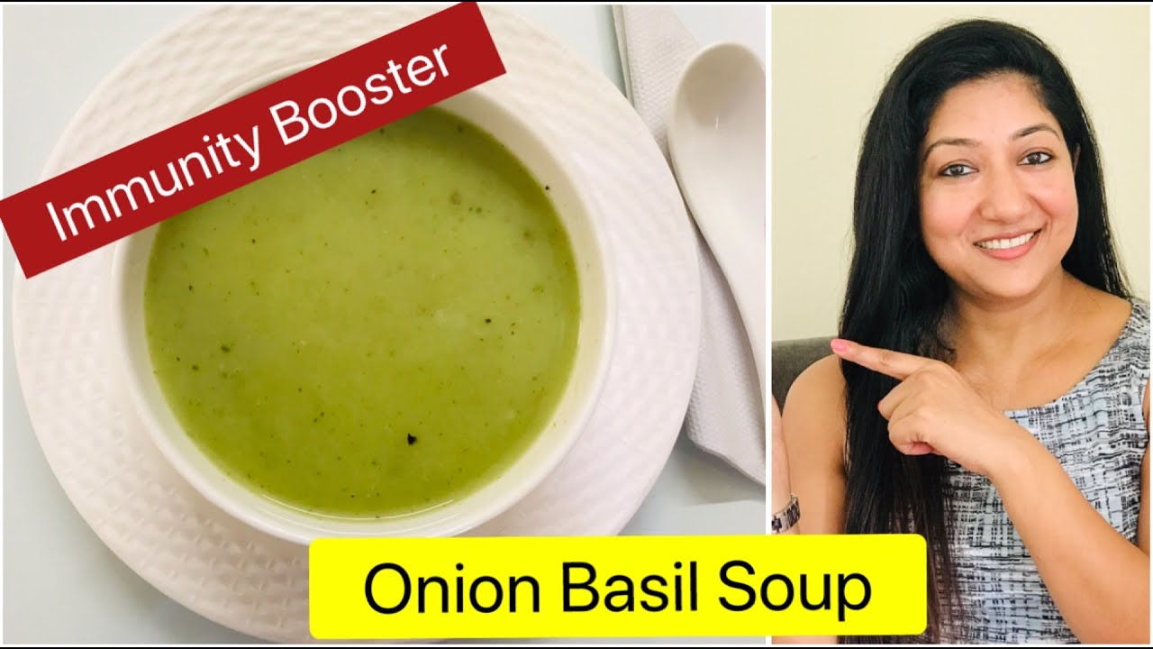 Onion Soup | Onion Basil Soup | Immunity Booster Soup | Aarum's Kitchen |