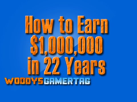 How to be a Millionaire in 22 years - Part 2 - Woody Wednesday