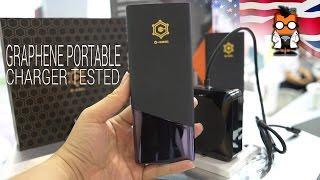 Graphene Portable Battery Pack Tested
