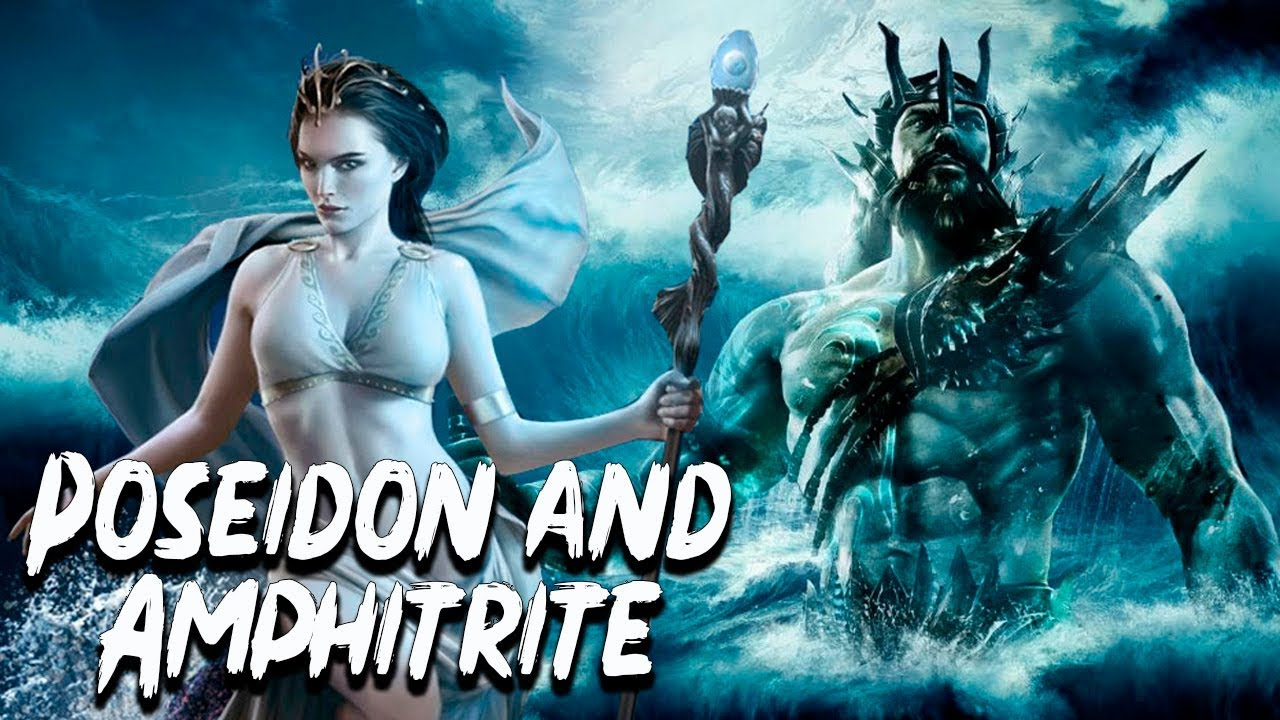 Poseidon and Amphitrite: The God and the Queen of the Seas - Greek  Mythology - See U in History - YouTube